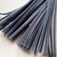 Синельная проволока, цвет серый, 30 см, 1 штука