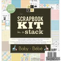 Набор для скрапбукинга DCWV - Baby, 55 листов