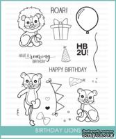 Штампы от Studio Katia - Birthday Lions, STKS012