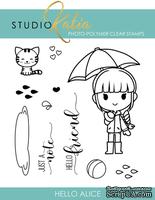 Набор штампов от Studio Katia - Hello Alice - Привет, Алиса, STKS017 - ScrapUA.com