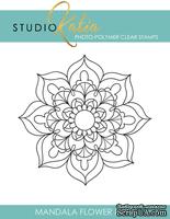 Штамп от Studio Katia - Mandala Flower Med, Мандала,