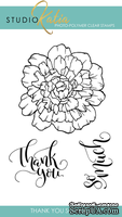 Набор штампов от Studio Katia - Thank You So Much, 3 шт.,  STKS015