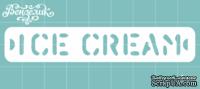 Чипборд от Вензелик - Ice cream, размер: 85x15 мм