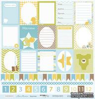 Лист односторонней бумаги от Scrapmir - Карточки - Наш Малыш, 30x30см