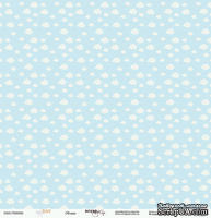 Лист односторонней бумаги от Scrapmir - Облака - Baby Boy, 30х30 см