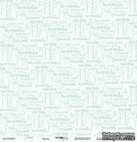 Лист односторонней бумаги от Scrapmir - Baby Boy - Малыш, размер 30х30 см, 1 шт.