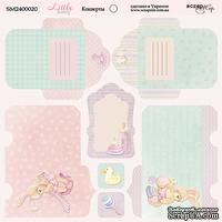 Лист двусторонней бумаги от Scrapmir - Конверты Little Bunny, 20х20 см
