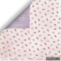 Лист двусторонней скрапбумаги от Scrapmir - Бантик из коллекции Delicious Recipes, 30x30 см