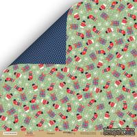 Лист двусторонней бумаги от Scrapmir - Подарки - Hello Christmas, 30x30 см, 10 шт.