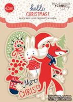Набор высечек для скрапбукинга от Scrapmir - Hello Christmas, 42 шт.