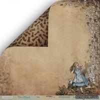 """Лист двусторонней бумаги от Scrapmir - """"Игра"""" из коллекции Time to Dream,  30x30 см"""