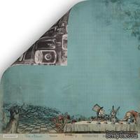 """Лист двусторонней бумаги от Scrapmir - """"Чаепитие"""" из коллекции Time to Dream,  30x30 см"""