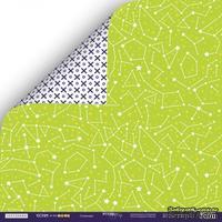Лист двусторонней бумаги от Scrapmir - Созвездие - Ticket to the Moon,  30x30см