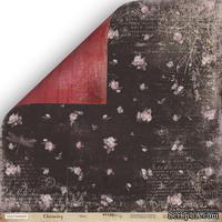 """Лист двусторонней бумаги  от Scrapmir - """"Лето"""" из коллекции Charming (Очарование), 30x30см"""