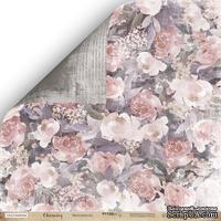 Лист двусторонней бумаги от Scrapmir - Цветущий Сад - Charming (Очарование), 30x30см