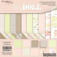 Набор двусторонней бумаги от Scrapmir - Doll Baby, 30х30см,  10шт. - ScrapUA.com
