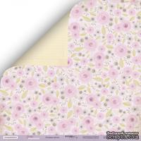 Лист двусторонней бумаги от Scrapmir - Розовые Мечты из коллекции Daddy's Princess, 30x30 см