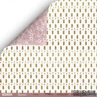 Лист двусторонней бумаги от Scrapmir - Стрелы из коллекции Unicorns, 30x30 см