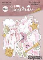 Набор высечек для скрапбукинга  от Scrapmir - Unicorns, 41шт
