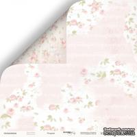 Лист двусторонней бумаги от Scrapmir - Розарий -  Beautiful Moments, 30x30см