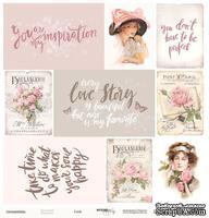 Лист односторонней бумаги от Scrapmir - Cards из коллекции Beautiful Moments, 30x30см, 10шт