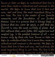 """Лист односторонней бумаги с золотым тиснением от Scrapmir - """"Golden Script Black"""" из коллекции Every Day, 30x30 см"""