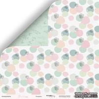 Лист двусторонней бумаги от Scrapmir - Пузырьки - Pur Pur, 30x30 см