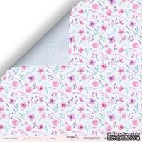 Лист двусторонней бумаги от Scrapmir - Флора из коллекции Gentle Morning, 30x30 см
