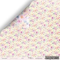 """Лист двусторонней бумаги от Scrapmir - Ситец - коллекция """"Gentle Morning"""", 30x30 см"""
