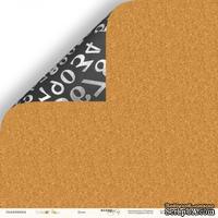 Лист двусторонней бумаги от Scrapmir - Доска из коллекции School Days, 30x30 см