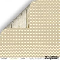 Лист двусторонней бумаги от Scrapmir - Сердечки из коллекции Tenderness, 30x30  см - ScrapUA.com
