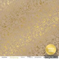 Лист двусторонней бумаги от Scrapmir - Крафт из коллекции Tenderness, 30x30  см - ScrapUA.com