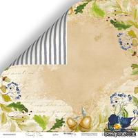 Лист двусторонней бумаги от Scrapmir - Дубок - Family Tree, 30x30см