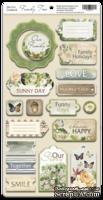 Чипборд для скрапбукинга 18шт от Scrapmir Family Tree (ENG)