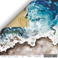 Лист двусторонней бумаги от Scrapmir - Бриз - Nautical Graphic, 30x30см