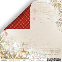 Лист двусторонней бумаги от Scrapmir - Осень -  Falling in Love , 30x30см