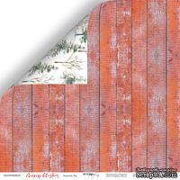 Лист двусторонней бумаги от Scrapmir - Зимний Лес - Merry Christmas, 30x30см
