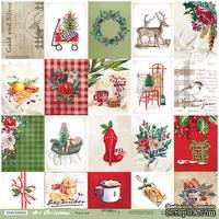 Лист односторонней бумаги 30x30 от Scrapmir Карточки из коллекции Art Christmas