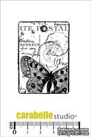 Штамп : Tag carte postale au papillon-Carabelle Studio -  Открытка  с бабочкой