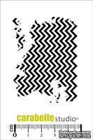 Штамп : Texture Chevrons-Carabelle Studio -  Шеврон