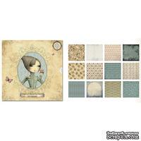 Набор бумаги Mirabelle, Santoro, 30х30 см, 36 листов