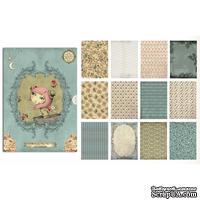 Набор бумаги Mirabelle, Santoro, размер А4 , 36 листов