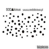 Трафарет SODAlicious - drops