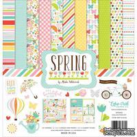 Набор бумаги от Echo Park  - Spring, 30х30см, 12+1 листов