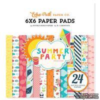 Набор бумаги от Echo Park — Summer Party, 15х15см