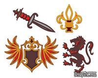 Набор лезвий Spellbinders - Shapeabilities Heraldry - Геральдика, 4 шт.