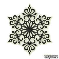 Акриловый штамп Lesia Zgharda SR007 Снежинки, размер 4.3х4.9 см