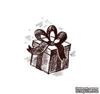 Акриловый штамп Christmas Stamp SR028 Подарок, размер 2,5 * 2,8 см