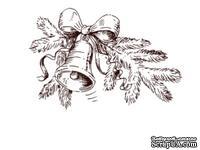 Акриловый штамп Christmas Stamp SR041 Ветка ели, размер 4,9 * 3,2 см
