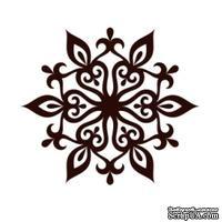 Акриловый штамп Christmas Stamp SR060 Снежинка, размер 5 * 4,4 см